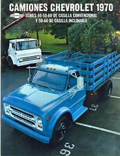 Chevrolet Conventional & Tilt series Movers trucks 1970 S.American brochure