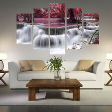 5 Pcs Brooks Oil Painting Printed On Canvas For Living Room Wall Art Pictures