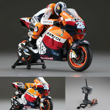 Kyosho MC-01 Repsol Honda RC212V 2011 Motorcycle No.26 Dani Pedrosa Ready Set