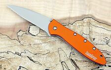 1660OR Kershaw Knife Leek Orange handle speedsafe *New Blem* 1660 knives