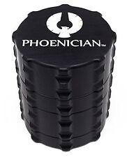 Phoenician Herbal Grinder - Small 4 Piece - Black