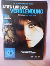 VERBLENDUNG Stieg Larsson DVD 2010 Thriller ab 16 Jahre