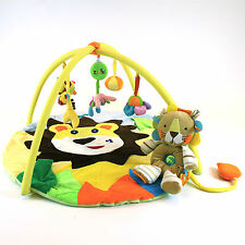 Baby Musical Lion & Cub Play Mat *FREE* Lion Cub Soft Sensory Toy Delux Playmat