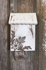 Shabby Cottage Mailbox Style Grocery Bag Holder~Wall Mount~Great Idea!!