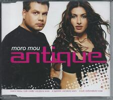 ANTIQUE - Moro Mou MAXI-CD 3TR Eurodance 2003 HELENA PAPARIZOU RARE!!