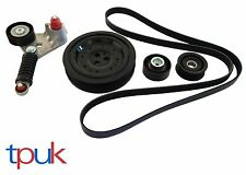 BRAND NEW FORD MONDEO MK3 DRIVE FAN BELT KIT CRANKSHAFT PULLEY 2.0 2.2 TDDi TDCi