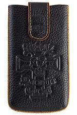 WALZ Leder Handy Tasche Handytasche HTC One S One X+ Desire 500 One XL Titan 2