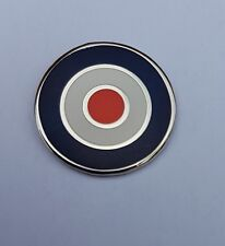 RAF Roundel Large St George Knights Templal  Badge Enamel Pin Badge Mods SKA Oi!