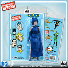 Official DC Comics Raven 8 inch Action Figure on Mego-Like Retro Card