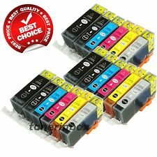 18 Pack PGI-225 CLI-226 ( w/Gray) Ink Cartridge For Canon PIXMA MG6120 MG6220