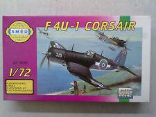 Smer 0835 Chance-Vought F4U-1 Corsair 1:72 Neu, einige Bauteile sind gelöst
