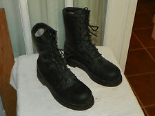 Addison STEEL TOE Military Combat MOTORCYCLE BOOTS Men's size 6 Regular USA made