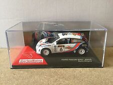 "DIE CAST "" FORD FOCUS WRC - 2000 RALLY CHIPRE "" CARLOS SAINZ COLLECTION 1/43"