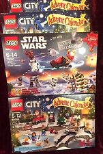 2015 LEGO Star Wars (75097) plus Lego City (60099) Advent Calendars Combo Deal