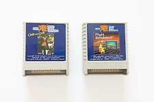 "Juego Flight Simulator II + One-on-One Atari XE Video Game ""Averiados"" (Vintage)"