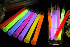 "6"" Light New  Glow Sticks Party Fun Camping Emergency Survival Hook Lanyard"