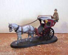 Dept 56 Dickens Village Sherlock Holmes The Hansom Cab #58534 NIB (Y465)