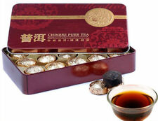 Hot Sale Black Tea Flavor Pu er Puerh Tea Gift Tin box Chinese Slimming Tea+Gift