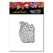 LAUREL BURCH RUBBER STAMPS CLING FELINE FRIEND NEW cling STAMP