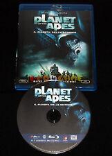 PLANET OF THE APES Il Pianeta Delle Scimmie Blu Ray Italiano ••••• USATO
