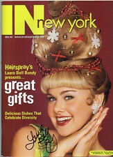 Laura Bell Bundy Signed Autographed In New York Magazine
