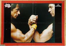 """PROGRAMMA PUBBLICITARIO DEL FILM """"OVER THE TOP"""" CON SYLVESTER STALLONE, RARO!!"""