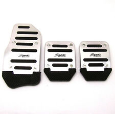 3x No-drilling Non Slip Manual Transmission Pedal Cover Brake Clutch Accelerator