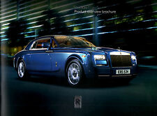 Rolls Royce Phantom Coupe 2013 Softback folleto de ventas 21pgs