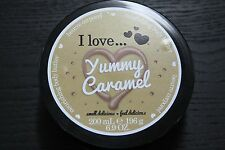 I Love... Yummy Caramel Body Butter 200ml - New Without Box