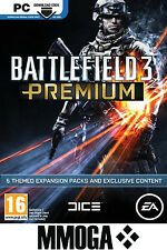Battlefield 3 Premium Service Key - EA Origin Code PC Game BF3 Add-on DLC EU UK