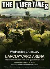 The Libertines Colour Flyer/Postcard for 2016 Birmingham Barclaycard Arena show