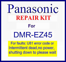Panasonic Repair kit, Dead/no power/switching please wait Dmr-ez45v dvd recorder