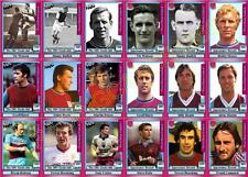 West Ham United - Hammers Legends Football Trading Cards
