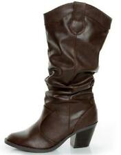 NEW Womens SODA LODE BROWN Knee High  Riding Dress Boots Shoes SZ 9.5