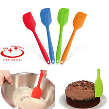 New Cake Cream Butter Spatula Mixing Batter Scraper Brush Silicone Baking Tools