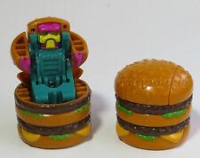 LOOSE McDonald's 1989 New Food Changeables BIG MAC Burger Robot Sgl TRANSFORMER