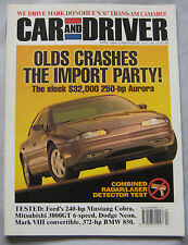 Car & Driver 04/1994 featuring BMW 850, Ford Mustang, Mitsubishi 3000GT, Dodge