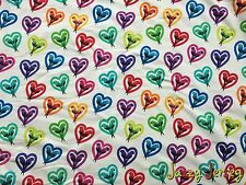 Rainbow Parrots French Terry Jersey Knit Fabric