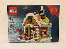 "LEGO #40139 Gingerbread House Limited Edition RETIRED ""NEW&SEALED"" FREE SHIPPING"