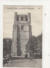 The Bell Tower Chichester Cathedral Vintage Postcard Barrett 658a