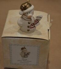 2000 FROSTY GIUSEPPE ARMANI CHRISTMAS ORNAMENT IN ORIGINAL BOX -1327F