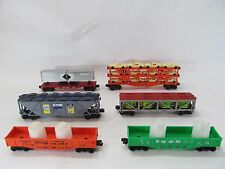 6 Lionel 9100 Series Rolling Stock from 1973-80 in C-9 New with Original Boxes