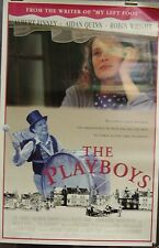 The Playboys Original Single Sided Movie Poster Aidan Quinn Robin Wright 1992