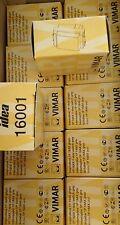 STOCK 40 PEZZI INTERRUTTORE 1P 16AX GRIGIO VIMAR IDEA COD. 16001 NUOVO