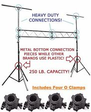 DJ Band 10ft. Stage Lighting Truss Stand For Pro Audio Mount Lights And Speakers