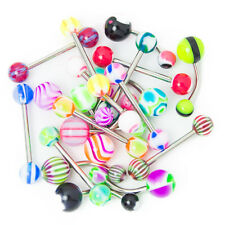 20pcs Mixed Body Jewelry - 14ga 316L Surgical Steel Belly and Straight Bars