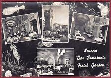SAVONA CITTÀ 91 BAR RISTORANTE HOTEL GARDEN - VEDUTINE Cartolina FOTOGRAFICA