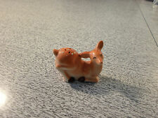 VINTAGE SPOTTED FAWN BABY DEER PEPPER SHAKER Made in JAPAN
