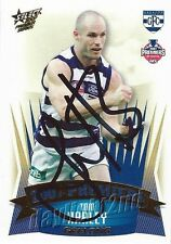 ✺Signed✺ 2007 GEELONG CATS AFL Premiers Card TOM HARLEY