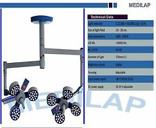 MEDILAP 4x3 OPERATING THEATRE LED LIGHT DOUBLE FOR SURGICAL OPERATIONS CIELING